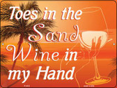 Toes in the Sand Wholesale Parking Sign P-1813