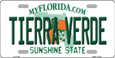 Tierra Verde Florida Wholesale Novelty License Plate LP-11768