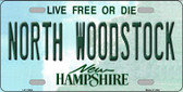 North Woodstock New Hampshire Wholesale Novelty License Plate LP-11864