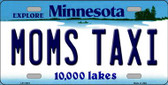 Moms Taxi Minnesota State Novelty Wholesale License Plate LP-11070