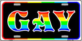 Gay Wholesale Metal Novelty License Plate LP-4743