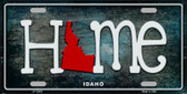 Idaho Home State Outline Wholesale Novelty License Plate LP-12003