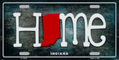 Indiana Home State Outline Wholesale Novelty License Plate LP-12005