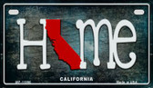 California Home State Outline Wholesale Novelty Motorcycle Plate MP-11996
