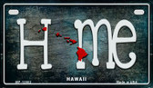Hawaii Home State Outline Wholesale Novelty Motorcycle Plate MP-12002