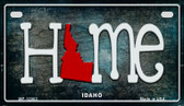 Idaho Home State Outline Wholesale Novelty Motorcycle Plate MP-12003