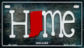 Indiana Home State Outline Wholesale Novelty Motorcycle Plate MP-12005