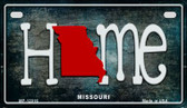 Missouri Home State Outline Wholesale Novelty Motorcycle Plate MP-12016