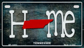 Tennessee Home State Outline Wholesale Novelty Motorcycle Plate MP-12033