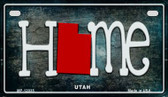 Utah Home State Outline Wholesale Novelty Motorcycle Plate MP-12035