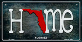 Florida Home State Outline Wholesale Novelty Bicycle Plate BP-12000
