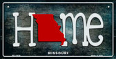 Missouri Home State Outline Wholesale Novelty Bicycle Plate BP-12016