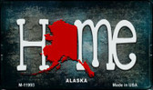 Alaska Home State Outline Wholesale Novelty Magnet M-11993