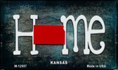 Kansas Home State Outline Wholesale Novelty Magnet M-12007
