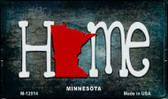 Minnesota Home State Outline Wholesale Novelty Magnet M-12014