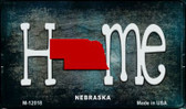 Nebraska Home State Outline Wholesale Novelty Magnet M-12018