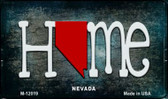 Nevada Home State Outline Wholesale Novelty Magnet M-12019