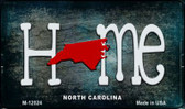 North Carolina Home State Outline Wholesale Novelty Magnet M-12024