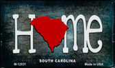 South Carolina Home State Outline Wholesale Novelty Magnet M-12031