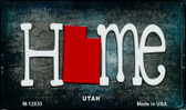Utah Home State Outline Wholesale Novelty Magnet M-12035