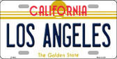 Los Angeles California Novelty State Background Wholesale Metal License Plate