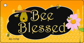 Bee Blessed Honey Hive Wholesale Novelty Key Chain KC-11722