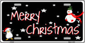 Merry Christmas Wholesale Metal Novelty License Plate