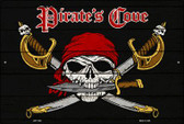 Pirates Cove Wholesale Metal Novelty Large Parking Sign LGP-1458