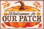 Welcome to Our Patch Wholesale Novelty Metal Large Parking Sign LGP-2441