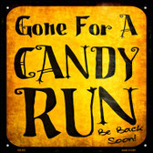 Candy Run Wholesale Novelty Metal Square Sign SQ-522