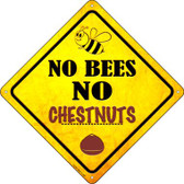 No Bees No Chestnuts Wholesale Novelty Crossing Sign CX-353