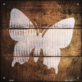 Butterfly Painted Stencil Wholesale Novelty Square Sign SQ-500