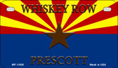 Whiskey Row Prescott Arizona Wholesale Novelty Metal Motorcycle Plate MP-11920