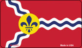 St. Louis State Flag Missouri Wholesale Novelty Metal Magnet M-12043