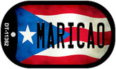 Maricao Puerto Rico State Flag Wholesale Novelty Metal Dog Tag Necklace DT-11362