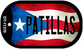 Patillas Puerto Rico State Flag Wholesale Novelty Metal Dog Tag Necklace DT-11370