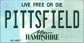 Pittsfield New Hampshire State Wholesale Novelty Metal Key Chain KC-12077