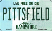 Pittsfield New Hampshire State Wholesale Novelty Metal Magnet M-12077