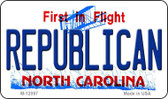 Republican North Carolina State Wholesale Novelty Metal Magnet M-12097