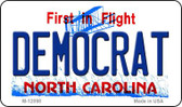 Democrat North Carolina State Wholesale Novelty Metal Magnet M-12098