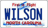 Wilson North Carolina State Wholesale Novelty Metal Magnet M-12100