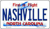 Nashville North Carolina State Wholesale Novelty Metal Magnet M-12101