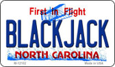 Blackjack North Carolina State Wholesale Novelty Metal Magnet M-12102