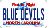 Blue Devils North Carolina State Wholesale Novelty Metal Magnet M-12107
