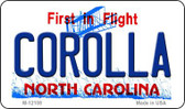 Corolla North Carolina State Wholesale Novelty Metal Magnet M-12108