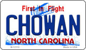 Chowan North Carolina State Wholesale Novelty Metal Magnet M-12110