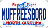 Muffreesboro North Carolina State Wholesale Novelty Metal Magnet M-12111
