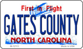 Gates County North Carolina State Wholesale Novelty Metal Magnet M-12113