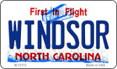 Windsor North Carolina State Wholesale Novelty Metal Magnet M-12115