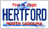 Hertford North Carolina State Wholesale Novelty Metal Magnet M-12117